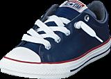 Converse - All Star Street Fleece Slip Midnight Navy/Terra Red/Egret