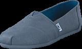 Toms - Microfiber Monocrom Steel Grey