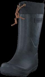 Bisgaard - Rubber Boot Winter Thermo Glitter Black