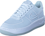 Nike - Air Force 1 Low-top Upstep Br White/white-glacier Blue