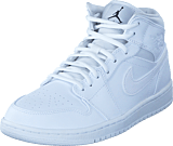 Nike - Air Jordan 1 Mid Shoe White Black White
