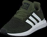 adidas Originals - Swift Run C Base Green/White/Core Black