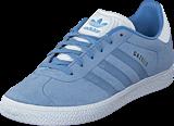 adidas Originals - Gazelle J Ash Blue S18/Ftwr White