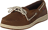 Sebago - Maleah Two Eye Brown Leather