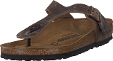 Birkenstock - Gizeh Regular Natural Leather Tabacco Brown