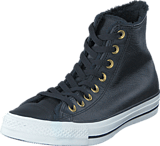 Converse - All Star Leather Hi Black/Egret