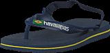 Havaianas - Baby Brasil Logo Ii Navy Blue/citrus Yellow