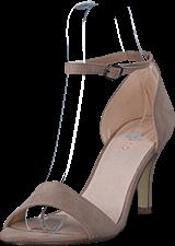 Bianco - Low Basic Sandal Nougat