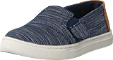 Toms - Luca Tiny Navy Striped Chambray