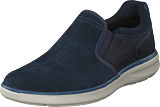 Rockport - Zaden Gore Slip On Navy Lea
