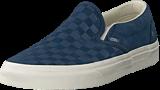 Vans - Ua Classic Slip-on Checker Indigo/marshmallow