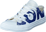 Converse - Chuck Taylor All Star Natural/blue/egret