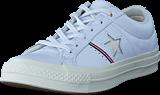 Converse - One Star White/enamel Red/egret